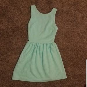 MINT COLORED LOW BACK SPRING/SUMMER DRESS!!!!!